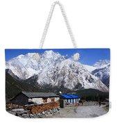Annapurna Mountain View, Nepal Weekender Tote Bag