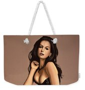 Anne Hathaway Painting Weekender Tote Bag