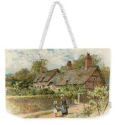 Anne Hathaway's Cottage At Shottery Weekender Tote Bag