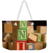 Annie - Alphabet Blocks Weekender Tote Bag