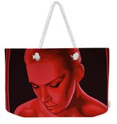 Annie Lennox Weekender Tote Bag by Paul Meijering