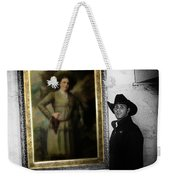Annie Oakley With A Cowboy Weekender Tote Bag
