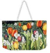 Ann's Tulips Weekender Tote Bag