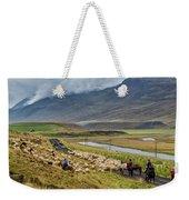 Annual Autumn Sheep Roundup Weekender Tote Bag