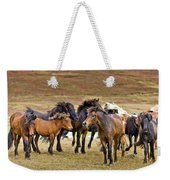 Annual Horse Round Up-laufskalarett Weekender Tote Bag