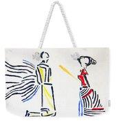 Annunciation Weekender Tote Bag