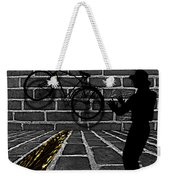 Another Bike On The Wall Weekender Tote Bag