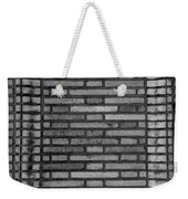 Another Brick In The Wall In Black And White Weekender Tote Bag