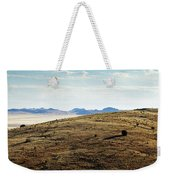 Another Color View Of West Texas Weekender Tote Bag