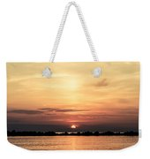 Another Earth - Sunrise On The Sea Weekender Tote Bag
