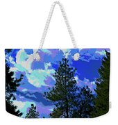 Another Fine Day On Planet Earth Weekender Tote Bag