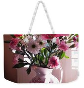 Another Grandma's Pitcher With Flowers Weekender Tote Bag