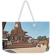 Another Hindu Temple N Bhaktapur Durbar Square In Bhaktapur -nepal Weekender Tote Bag