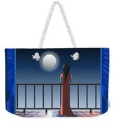 Another Night Alone Weekender Tote Bag