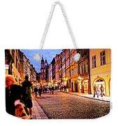 Another Prague Night - Czech Republic Weekender Tote Bag