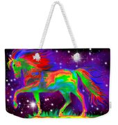 Another Rainbow Stallion Weekender Tote Bag