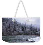 Another Snowy Day Weekender Tote Bag