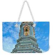 Another Stupa At Grand Palace Of Thailand In Bangkok Weekender Tote Bag