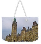 Another View Of Parliament Building In Ottawa-on Weekender Tote Bag