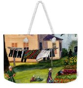 Another Way Of Life II Weekender Tote Bag by Marilyn Smith