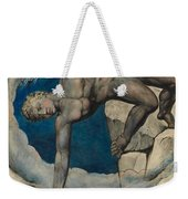 Antaeus Setting Down Dante And Virgil In The Last Circle Of Hell Weekender Tote Bag