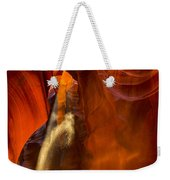 Antelope Canyon - Sand In The Light Weekender Tote Bag