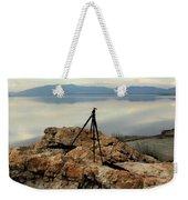 Antelope Island Sunset - 3 Weekender Tote Bag