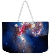 Antennae Galaxies Collide 2 Weekender Tote Bag