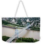 Anthony Wayne Bridge Toledo Ohio Weekender Tote Bag