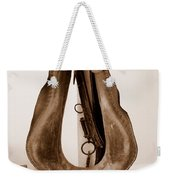 Antiquated Horse Collar In Sepia Weekender Tote Bag