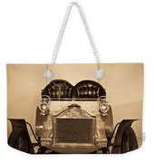 Antique Auto In Sepia Weekender Tote Bag