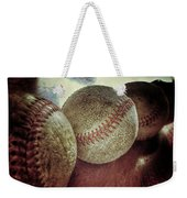 Antique Baseballs Still Life Weekender Tote Bag