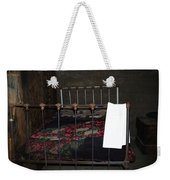 Antique Bed Weekender Tote Bag