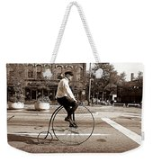 Antique Bicycle Weekender Tote Bag