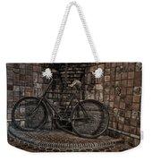 Antique Bicycle Weekender Tote Bag by Susan Candelario
