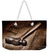 Antique Blacksmith Hammer Weekender Tote Bag