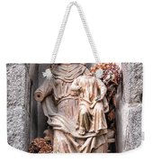 Antique Blessed Virgin Statue Weekender Tote Bag