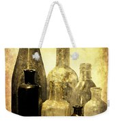Antique Bottles From The Past Weekender Tote Bag