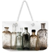 Antique Bottles Weekender Tote Bag