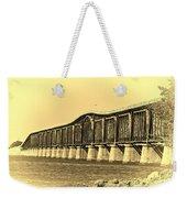 Antique Bridge Weekender Tote Bag
