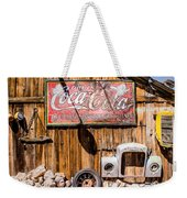 Antique Building At The Techatticup Gold Mine Weekender Tote Bag
