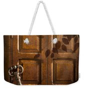 Antique Cabinet Weekender Tote Bag by Amanda Elwell