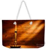 Antique Candlestick Weekender Tote Bag