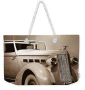Antique Car In Sepia 2 Weekender Tote Bag