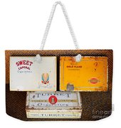Antique Cigarette Boxes Weekender Tote Bag