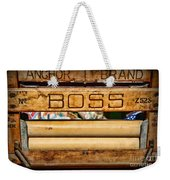 Antique Clothes Wringer Anchor Brand Weekender Tote Bag