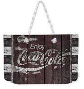 Antique Coca Cola Signs Weekender Tote Bag