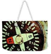 Antique Compass Weekender Tote Bag