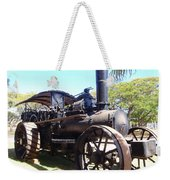 Antique Compound Steam Plough Weekender Tote Bag