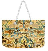Antique Cutout Of Animals  Weekender Tote Bag